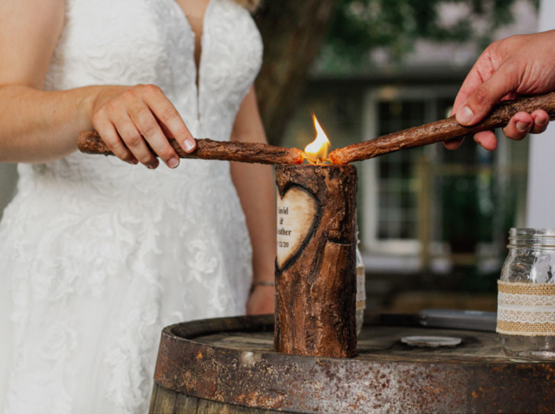 Candle Lighting wedding ceremony