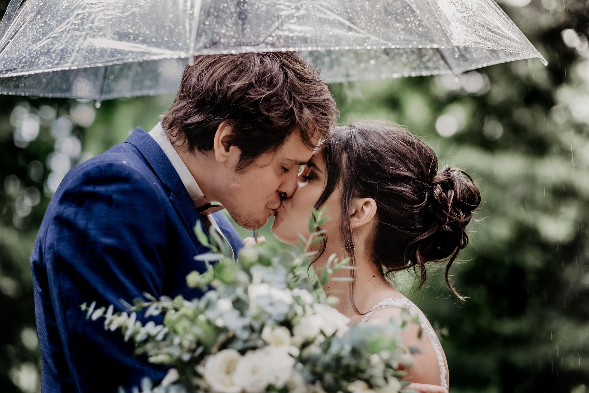 Tackling a rainy wedding day