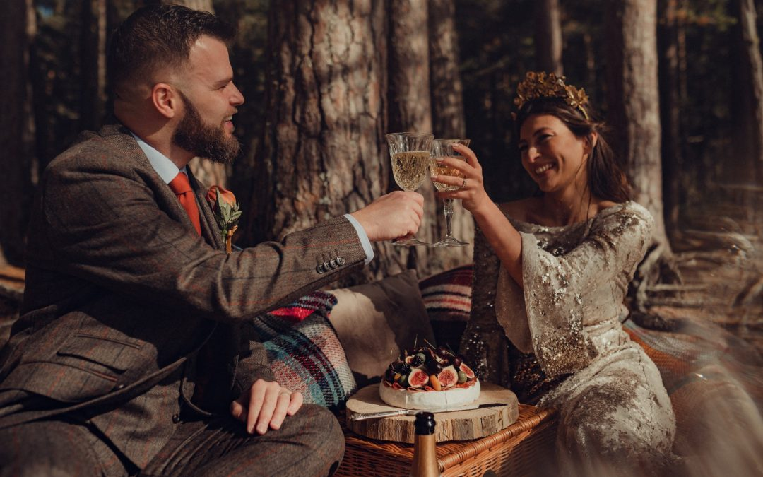 A Mystical, Magical, Styled Highland Wedding Shoot in the Cairngorms – Part 1